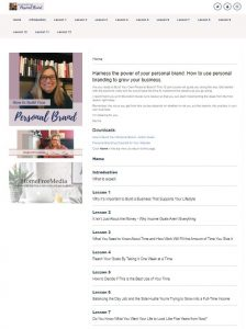 personal branding course
